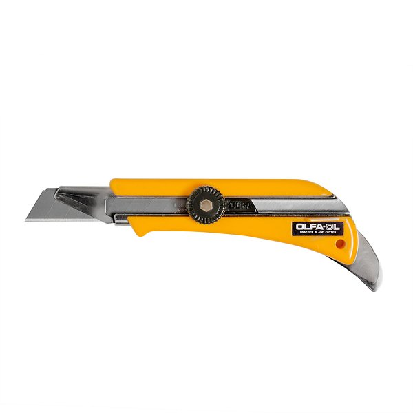 18mm Heavy-Duty Utility Knife w/ Extend-Depth (OL)