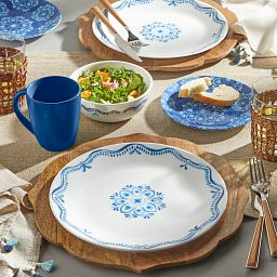 Libson Terrace 16-piece Dinnerware Set, Service for 4 on the table