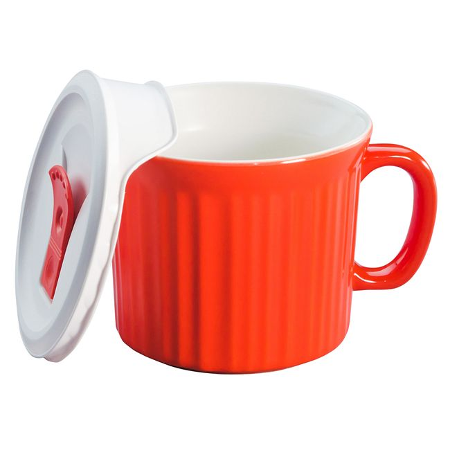 Colours Vermilion 20-oz Meal Mug w/ Lid