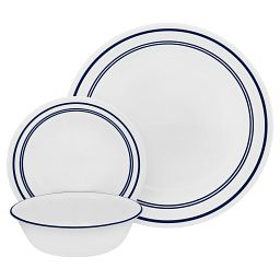 Classic Café Blue 18-pc Dinnerware Set