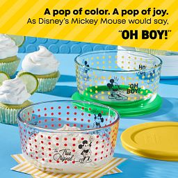 Mickey Mouse Oh Boy & True Original 4-cup storage - a Pop of Color, a Pop of Joy