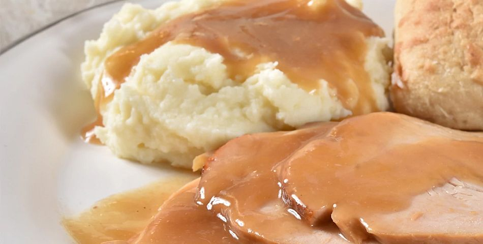 Turkey Breast and Mashed Potatoes with instant pot