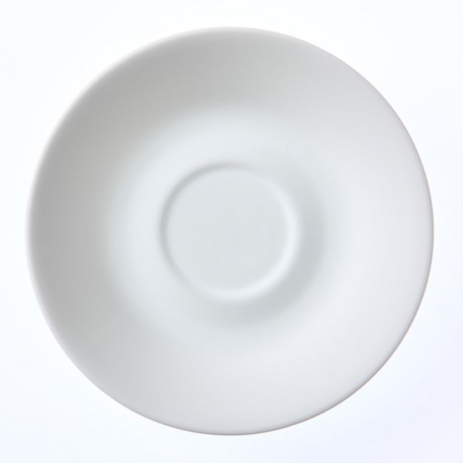"""Winter Frost White 6.25"""" Saucer"""