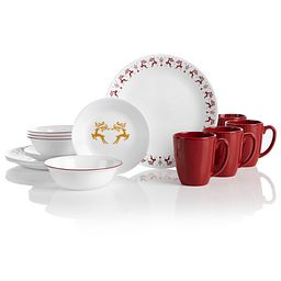 Dancer & Prancer 16-piece Dinnerware Set