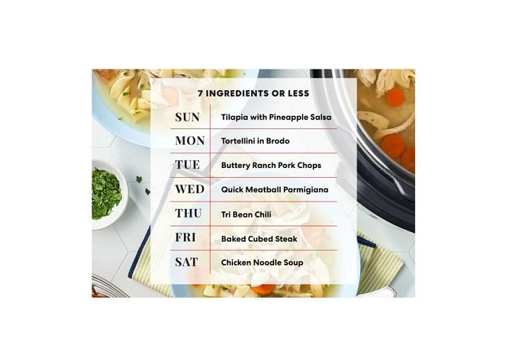 7 Ingredients or Less