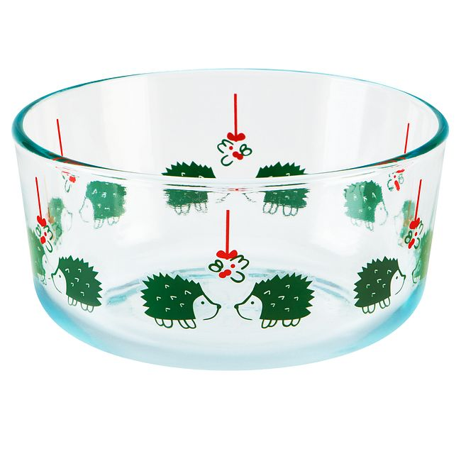 Simply Store 4 Cup Hedgehog Storage Dish w/ Green Lid
