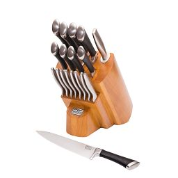 Fusion® 18-pc Block Set with knife in front