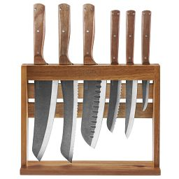 Rustica 7-piece German Steel Block Set
