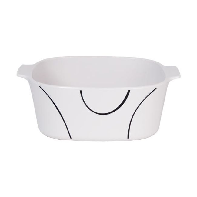 Stovetop Pyroceram Simple Lines 5L Casserole