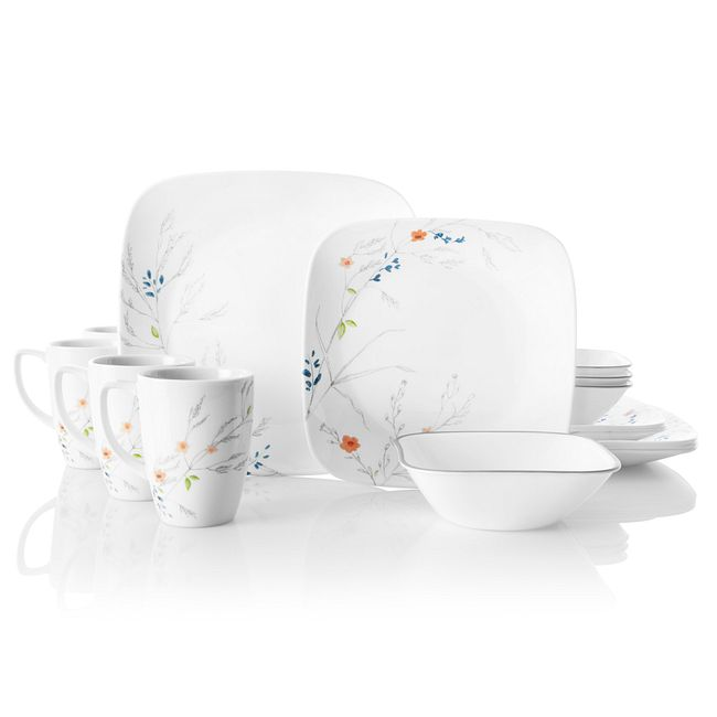 Adlyn 16-piece Dinnerware Set, Service for 4