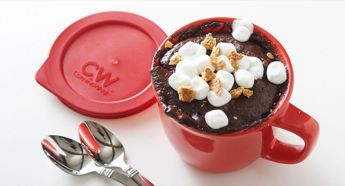 S'mores Cake in a Mug