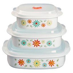 Coordinates® Happy Days 6-pc Microwave Set