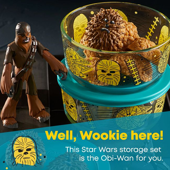 4-cup Decorated Storage: Star Wars™ - Chewbacca™