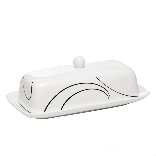 Simple Lines Butter Dish