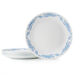 """Cornflower 8.5"""" Salad Plates, 6-pack"""