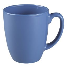 Corelle 11-oz Stoneware Medium Blue Mug