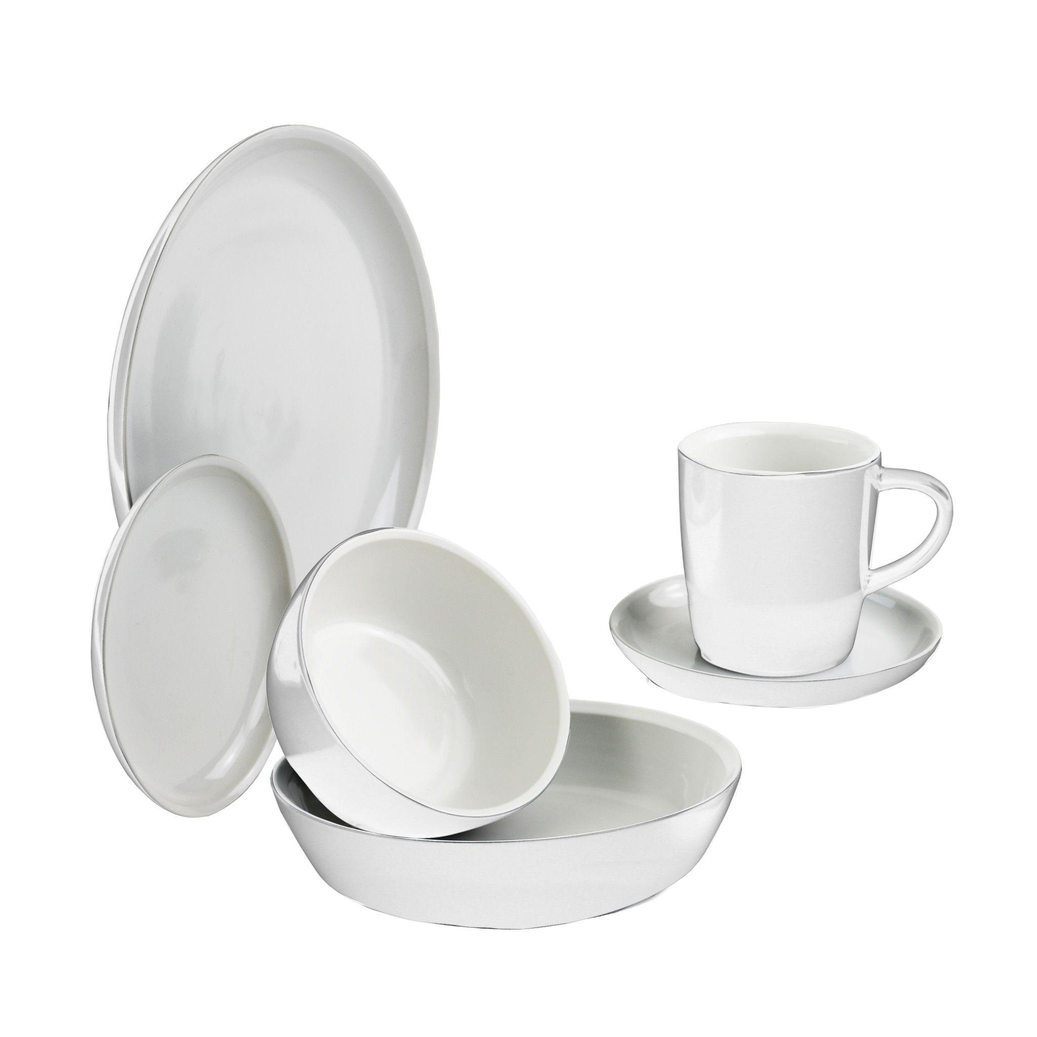 6-piece Dinnerware Set , Service for 1