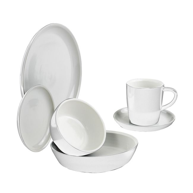 Powder 6-pc Dinnerware Set