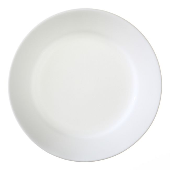 Dazzling White 16-piece Dinnerware Set, Service for 4
