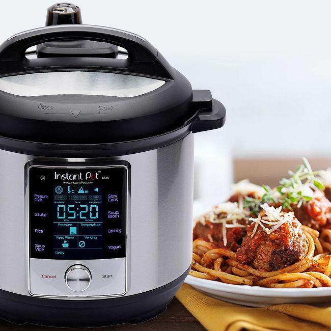 Instant Pot®  Max™ 6-quart Multi-Use Pressure Cooker
