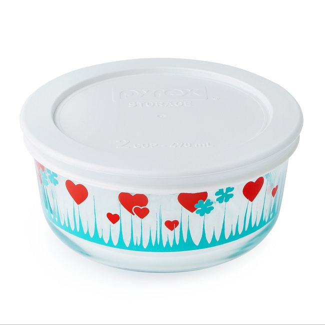 Simply Store 2 Cup Lucky in Love Storage Dish w/ Lid