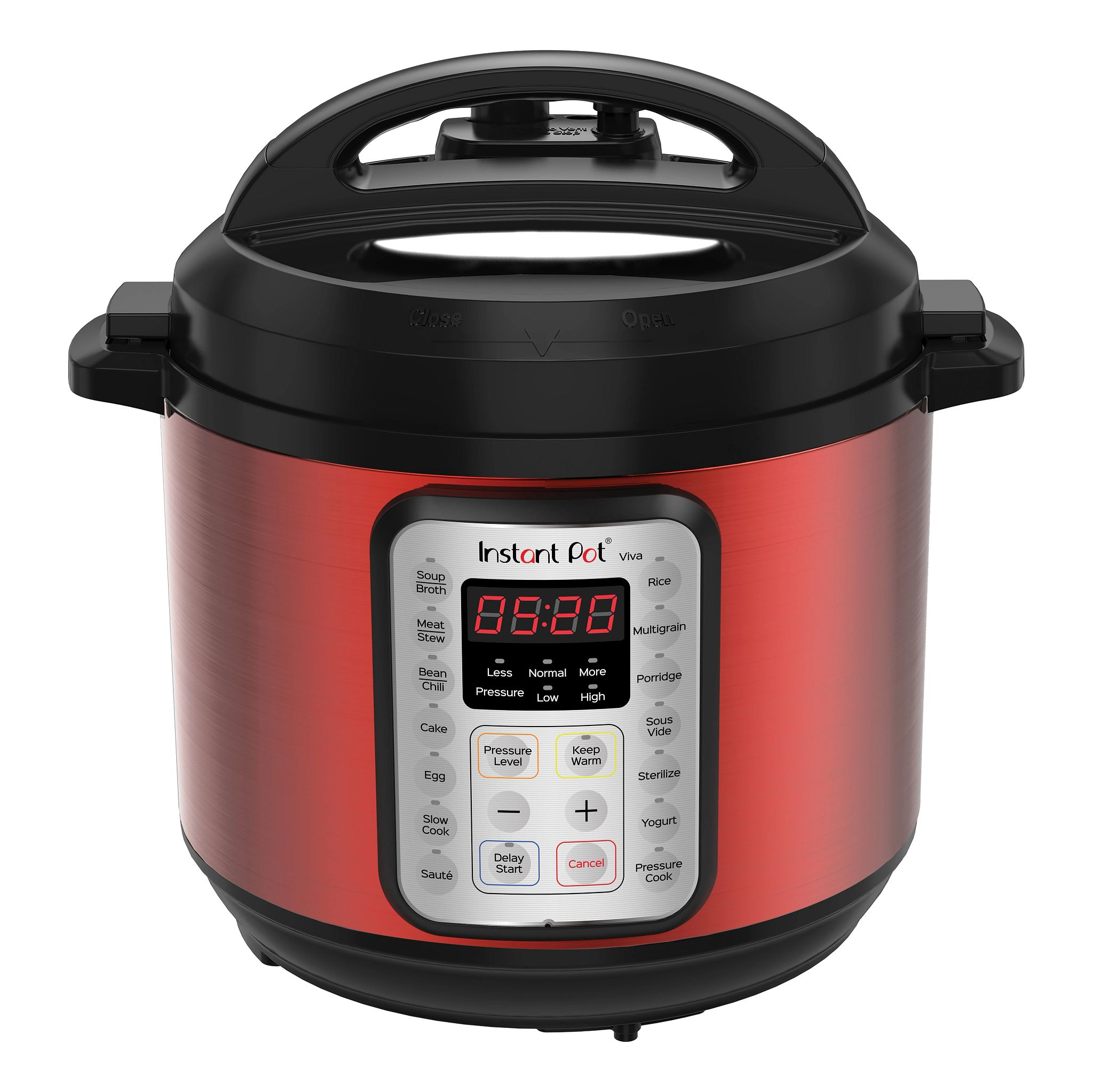 Instant Pot Viva 6-quart Multi-Use Pressure Cooker, Red