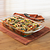 Easy Grab 3-qt Oblong Baking Dish w/ Casserole Inside