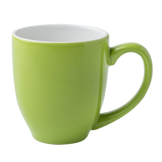 Abstract Meadows 13-ounce Green Mug
