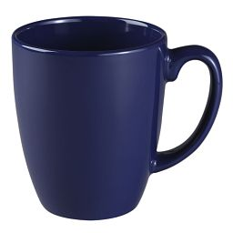 Livingware™ 11-oz Stoneware Mug, Cobalt Blue