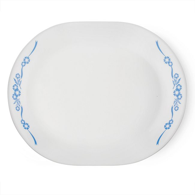 "Livingware™ Cornflower 12.25"" Serving Platter"