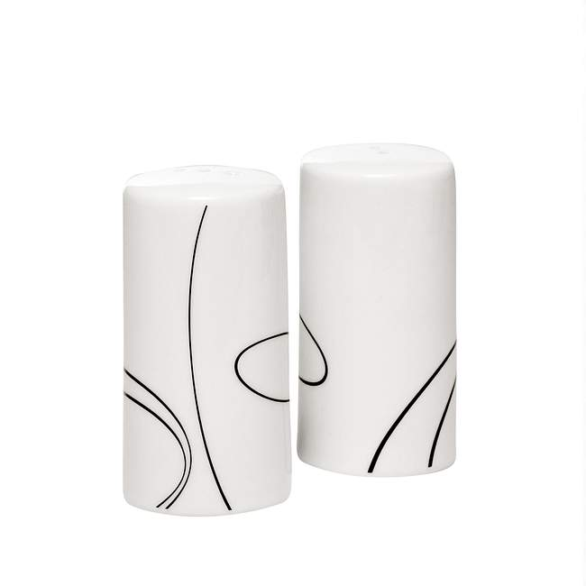 Simple Lines Salt & Pepper Set