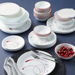 Splendor 78-pc Dinnerware Set stacked