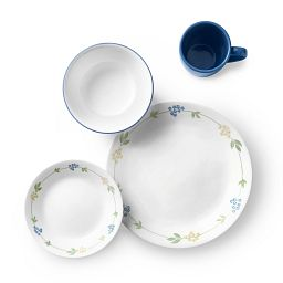 Secret Garden 16-pc Dinnerware Setting view from the top