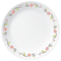 """Livingware Tangerine Garden 10.25"""" Plate"""