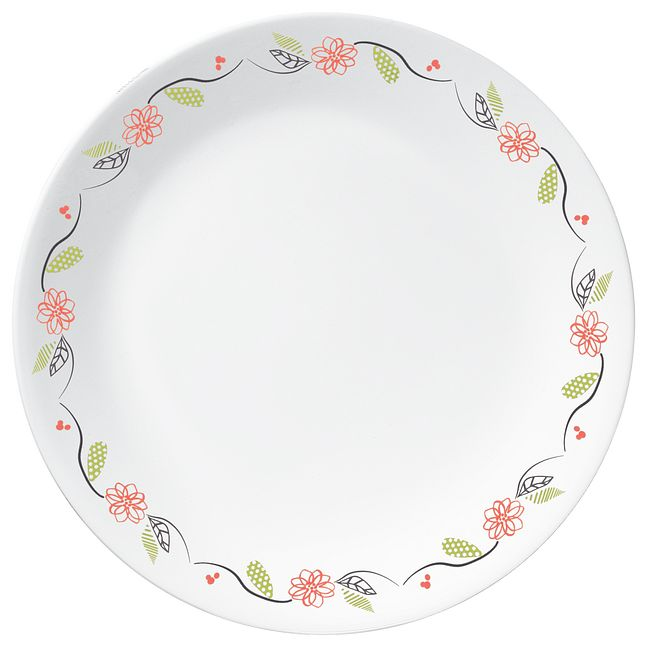 Tangerine Garden 16-piece Dinnerware Set, Service for 4