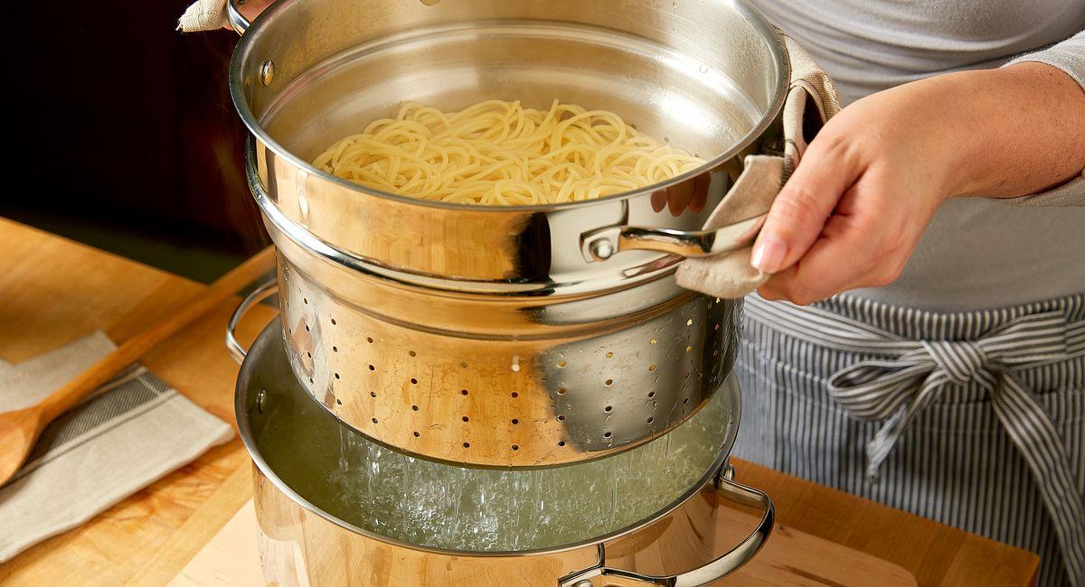 boil pasta