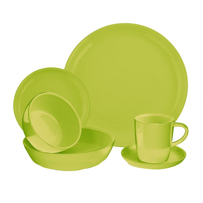 6-piece Sprout Dinnerware Set , Service for 1