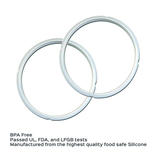 Instant Pot®  8-quart Clear Sealing Ring, 2-pack