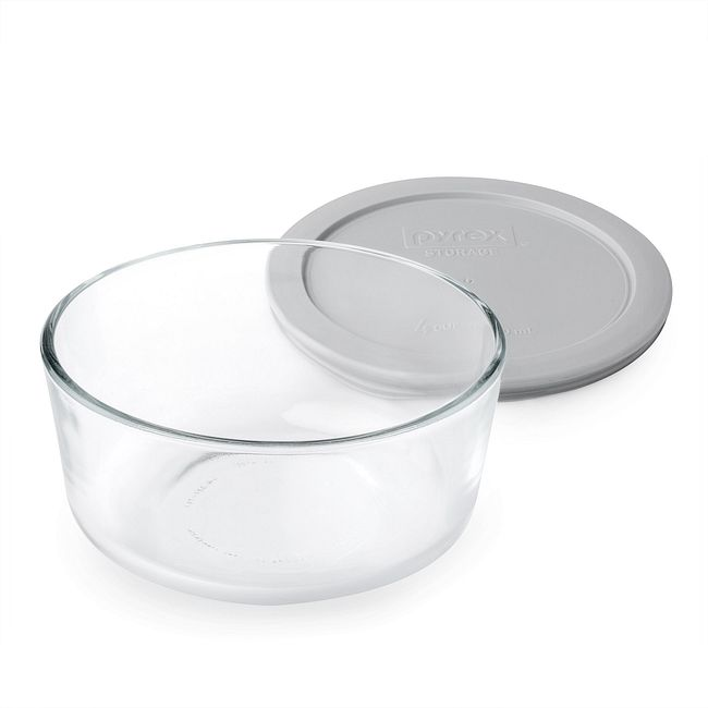 Simply Store 4 Cup Storage Dish w/ Gray Lid