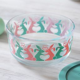 Simply Store® 4-Cup Spring Fling Storage Bowl Closeup