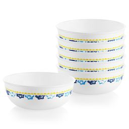 Boho Daydream 16-ounce Small Soup Bowls, 6-pack