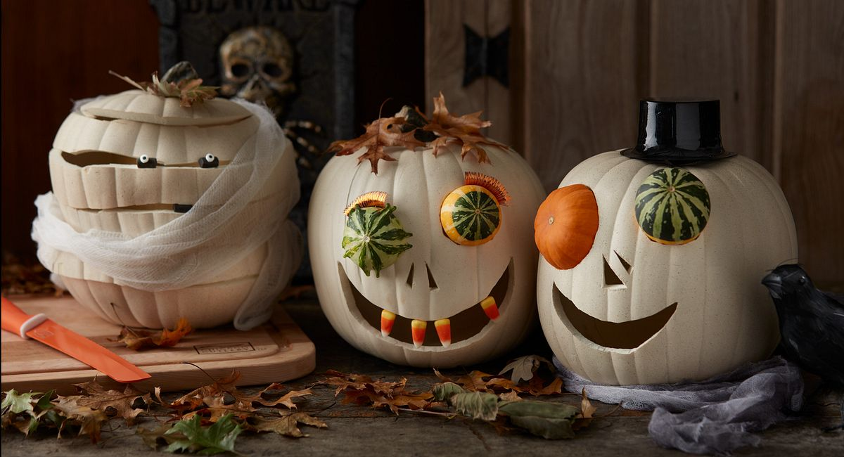 5 Clever Pumpkin Carving Ideas