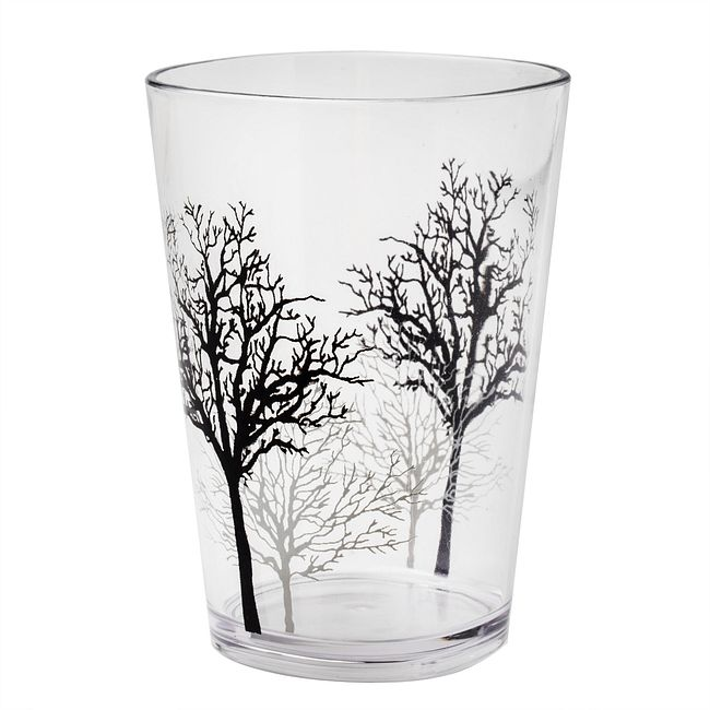 Timber Shadows 8-ounce Acrylic Drinking Glass