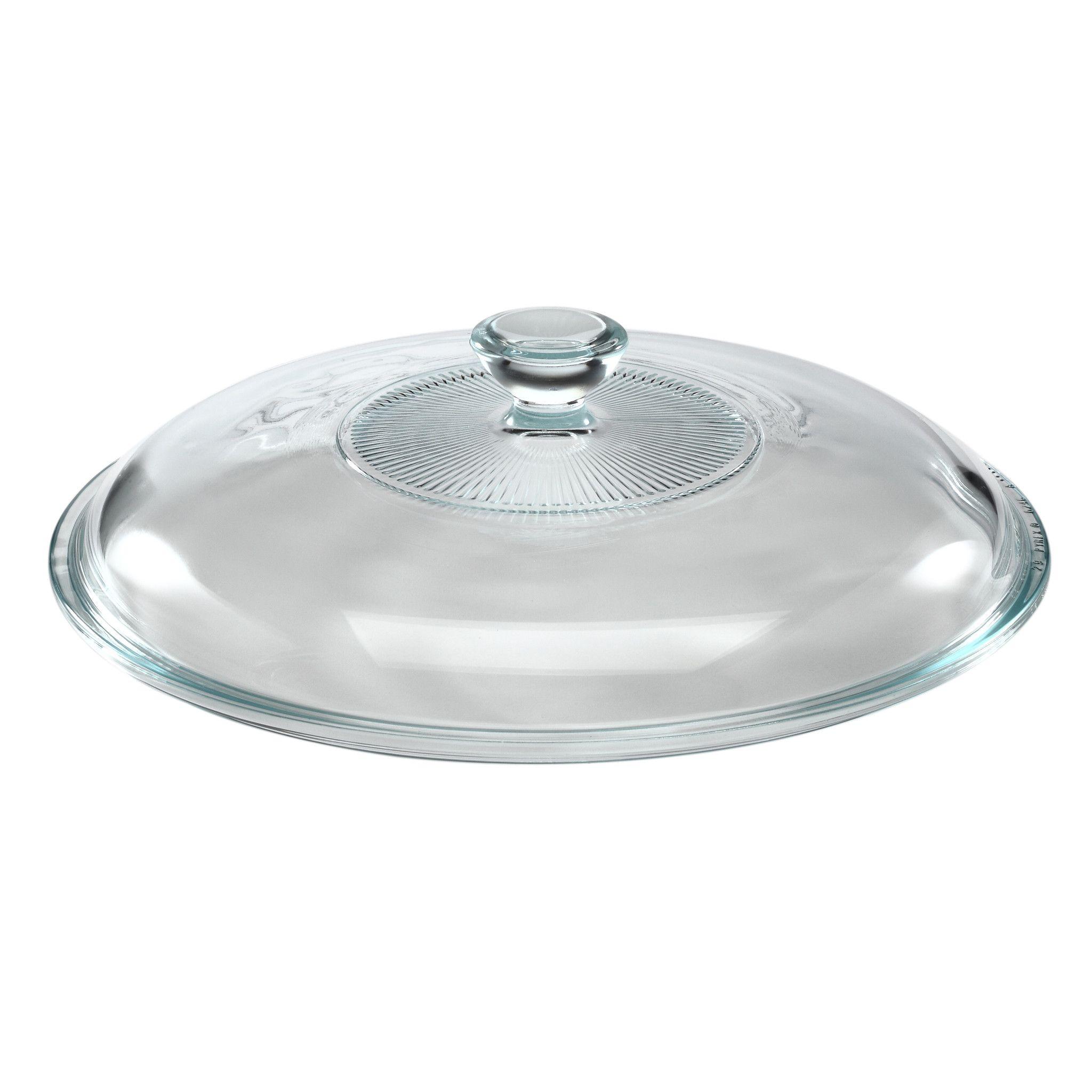 Pyrex 2-Qt Glass Casserole Lid