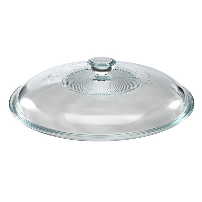Glass Lid for 2-quart Glass Casserole Dish