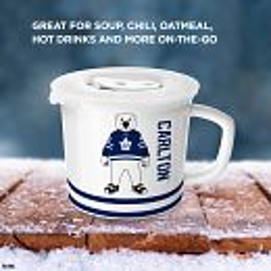 NHL® Toronto Maple Leafs 20-ounce Meal Mug™, Carlton™ with Lid
