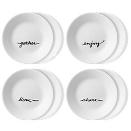 "Celebration 6.75"" Appetizer Plate Set, 8-pk"