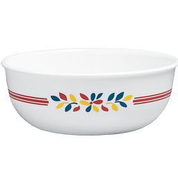 Signature Prairie Garden Red 16-oz Bowl