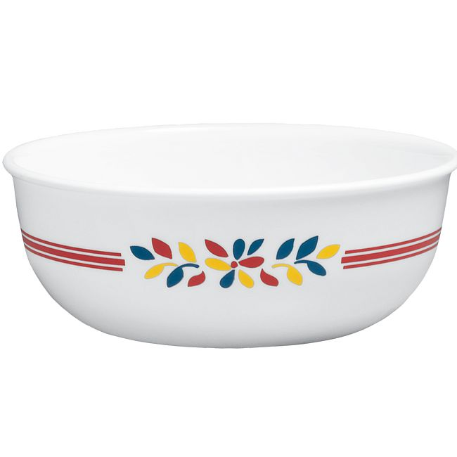 Prairie Garden Red 16-ounce Small Soup Bowl