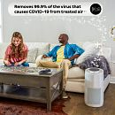 Instant™ Air Purifier, Large, Pearl